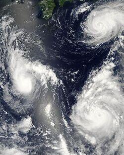 Typhoon saomai 060807
