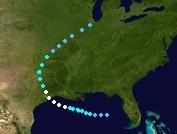 Hurricane Colin (2016 - Track)