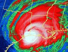 Hurricane Rita (2005) - Landfall IR