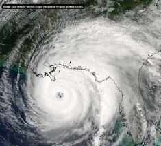 Hurricane Ivan in Gulf Coast