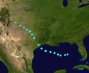 Tropical Storm Arlene (2017 - Track)