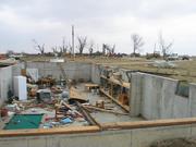 Tornado damage high end ef4
