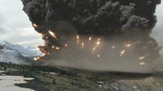 Kikai caldera super eruption