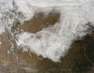 2009 Christmas winter storm snowfall