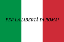 Flag of a Rebel Movement thing in Italy
