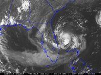 Subtropical Depression Andrea (2007)