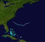 Subtropical Storm Arthur (2018) Track 2.png