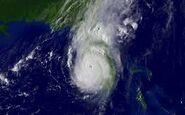Hurricane Anabelle near landfall