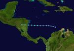 Tropical Storm Edouard (2020-CobraStrike) Track.png