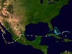 Hurricane Emlilea 2013 Path.png