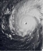 Megi as a category 4 Typhoon (10-17-2010)
