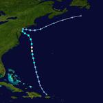 Hurricane Dorian Track (2019 - Roy)