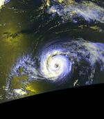 Hurricane Cindy (1999) - Cropped - 10
