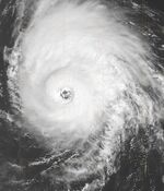 Hurricane Helene 18 sept 2006BW
