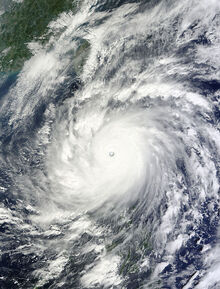 Super Typhoon Megi Oct 18 2010