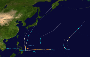 2004 Pacific typhoon season summary