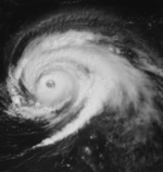 Hurricane Luis on September 6 1995