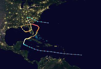 HurricaneDarren2024Track
