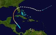 Hurricane Anabelles PAth