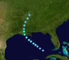 Tropical Storm Katia (2017 - Track)