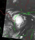 Hurricane Bret (1999) - Cropped - 8