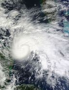 Hurricane Ida in the Yucatan Channel November 8 2009