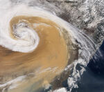 Hypothetical Martian Storm