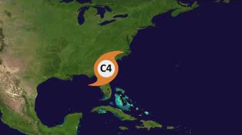 Hurricane Darren - Animation