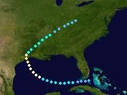 Hurricane Debby (2027 - Track - For Douglas)