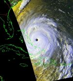 Hurricane Floyd (1999) - Cropped - 1