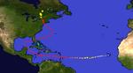 Super Hurricane Michael Map