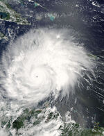 Hurricane Ivan 09 sept 2004 1745Z