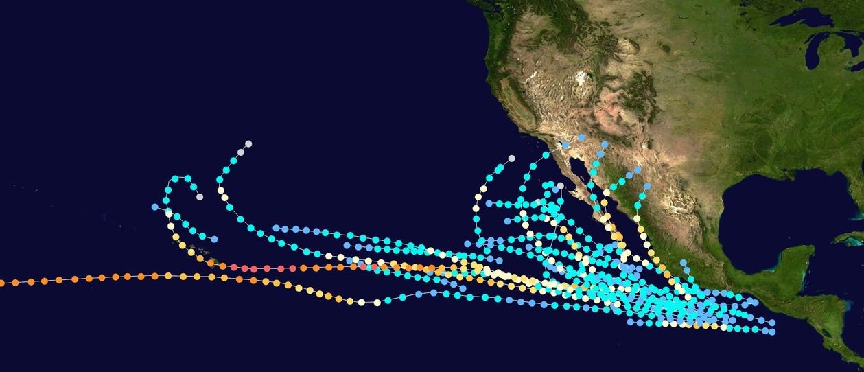 pacific hurricane season 2020
