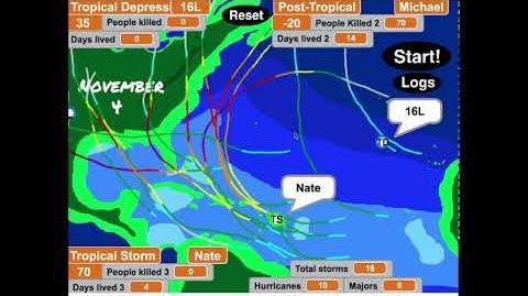 Alantic Hurricane Season 2018 Simulation(HYPOTHETICAL)
