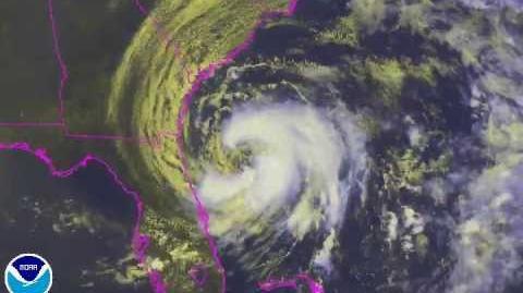 2012 Atlantic Hurricane Season Individual storms satellite animation