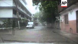 Tropical storm Manuel causes landslides and flooding