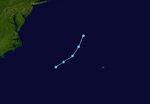 Tropical Depression Nine (2020-CobraStrike) Track.png