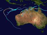 2021-22 Australian region cyclone season (GaryKJR)