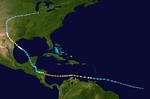 Hurricane Fernand Track (2019 - MH)