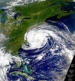 Hurricane Dennis (1999) Weakening