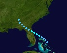Tropical Storm Larry (2015 - Track)