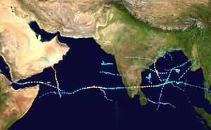 2020n8 North Indian Ocean cyclone season summary
