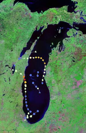2011 Lake Michigan hurricane season summary updated