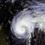 Hurricane Felix 13 sept 2001 1703Z