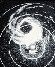 Hurricane Alice 01 jan 1955 radar