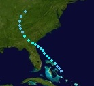 Tropical Storm Six (1922 - Track)