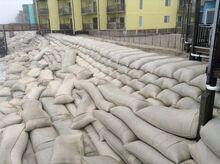 Sandbags in Oristano