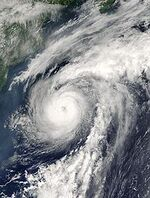 Hurricane Alex 04 aug 2004 1500Z