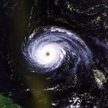 Hurricane Luis 03 sept 1995 1705Z