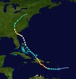 Hurricane Imelda Track (2019 - Mario)